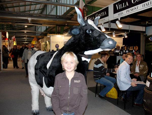 Bau einer lebensgroßen Kuh namens Lovely